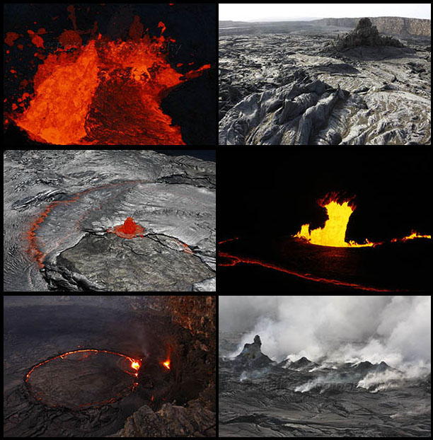Erta Ale volcano photo