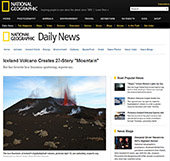 website National Geographic Daily News april 2010
